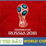 Thông tin mới nhất về lịch thi đấu World Cup 2018